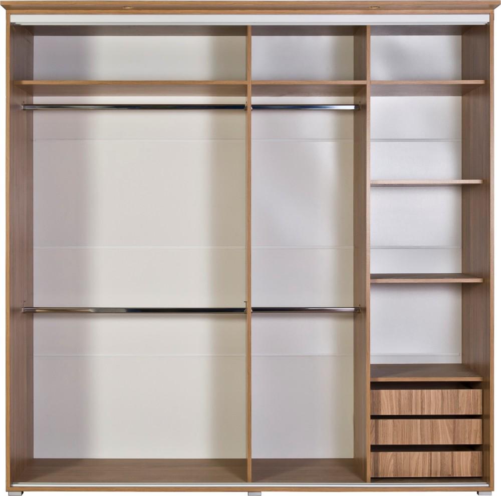 Gardrób szekrény belső1