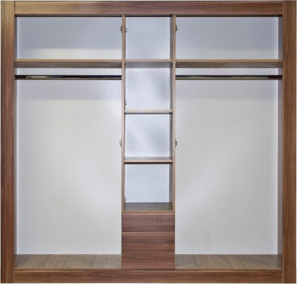 Gardrób szekrény belső2